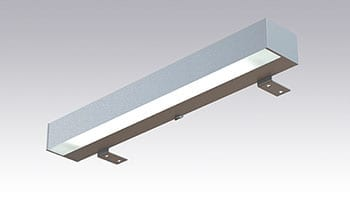 LED Square Speillampe 800mm 230V 9W IP44