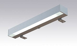LED Square Speillampe 400mm 230V 4W IP44